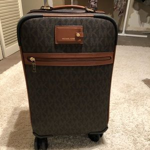 Michael Kors rolling luggage bag